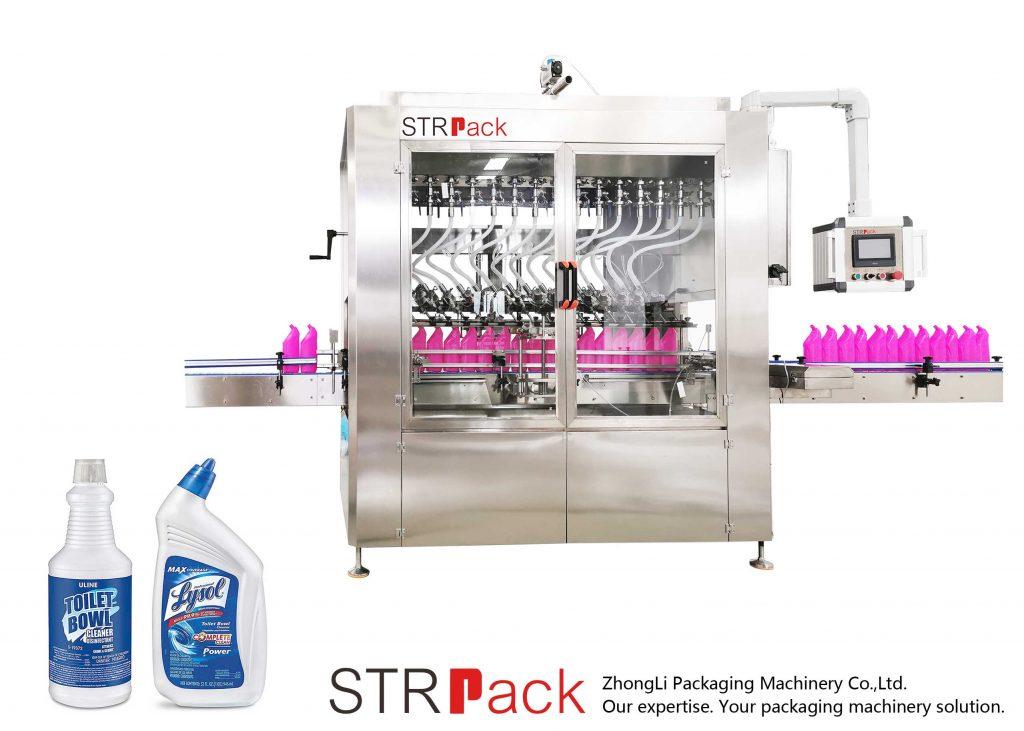 آلة ملء السائل زجاجة بزاوية العنق