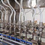 آلات تعبئة السوائل لأنظمة خط تعبئة الزجاجات