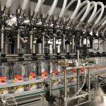 آلة تعبئة الصابون السائل وآلة وضع الزجاجات