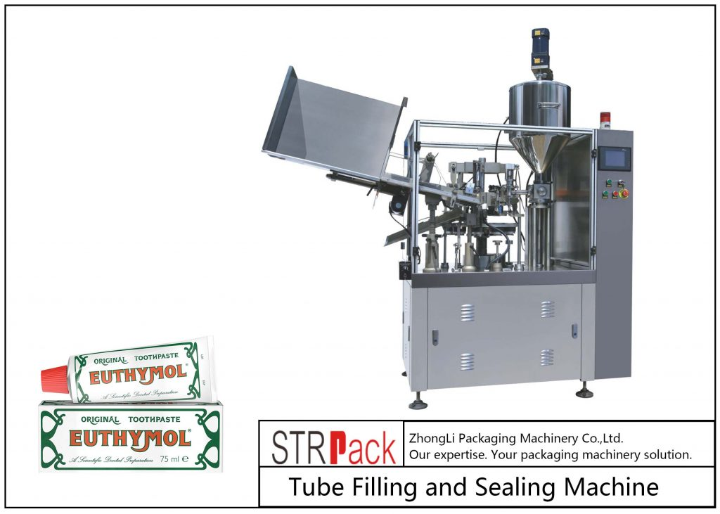 SFS-60Z آلة تعبئة وختم الأنبوب المعدني